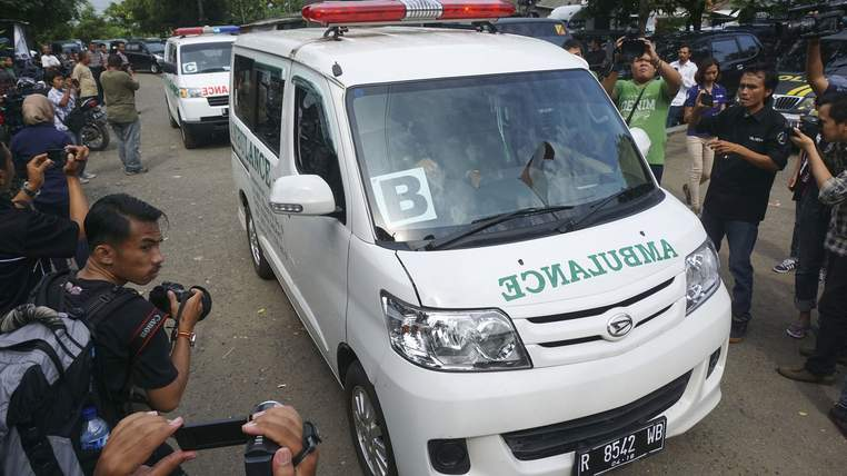 Indonesia Foreigners Executed