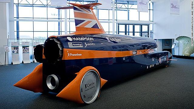 world's first 1,000 mph car