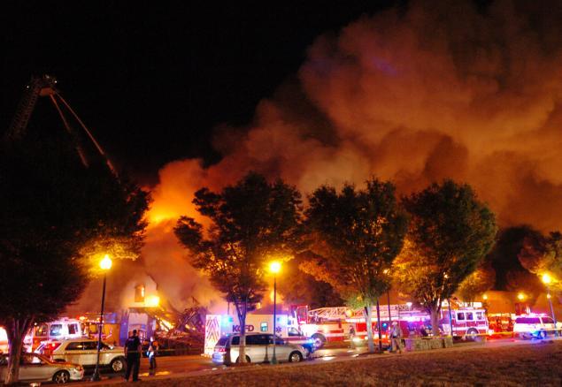 Apartment Blaze