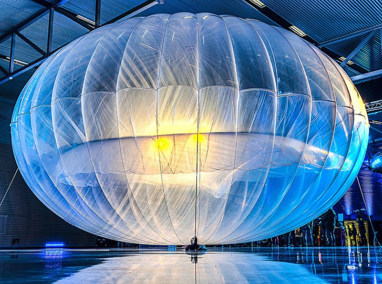 Google's Project Loon Internet Balloons