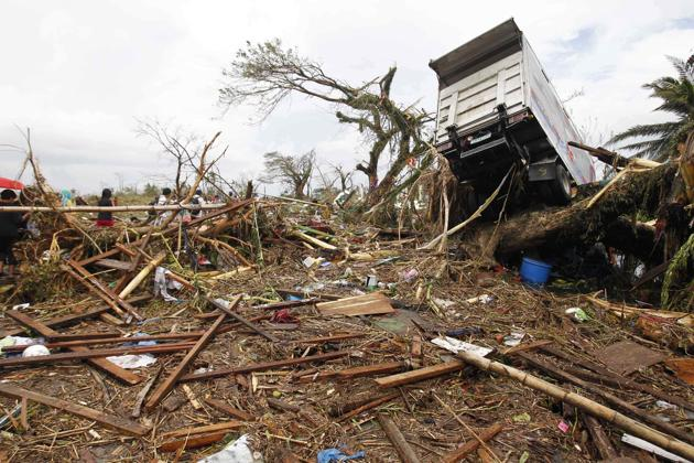 Philippines battered as Typhoon