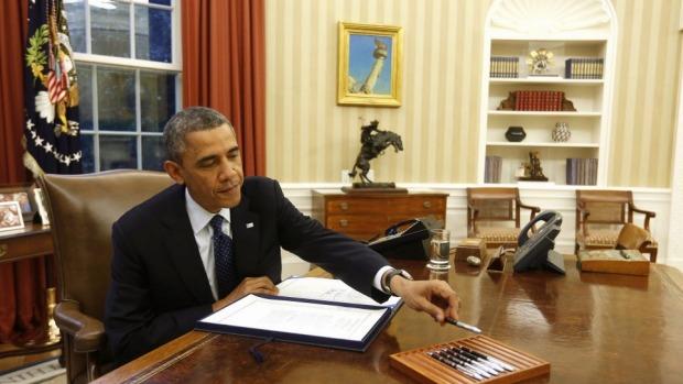 Barack Obama takes action