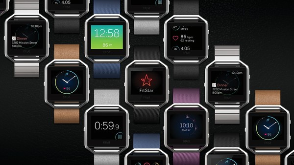 CES 2016 Fitbit Blaze smartwatch