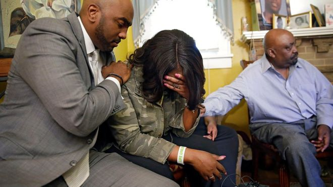 Terence Crutcher black man shot