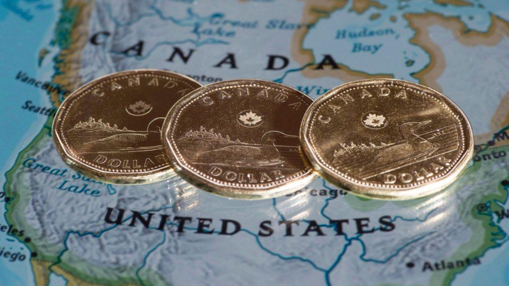 Canadian Dollar Falls