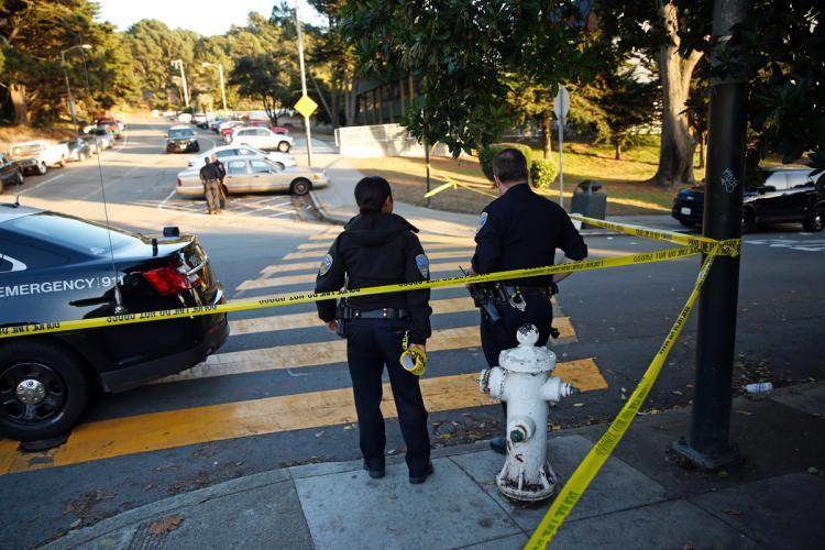 Shot In San Francisco High School