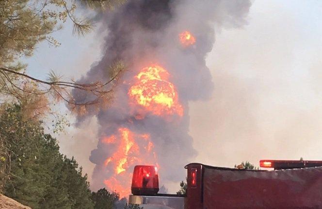 Alabama Gasoline Pipeline Explosion