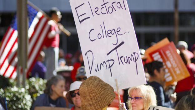 Trump Wins Electoral College