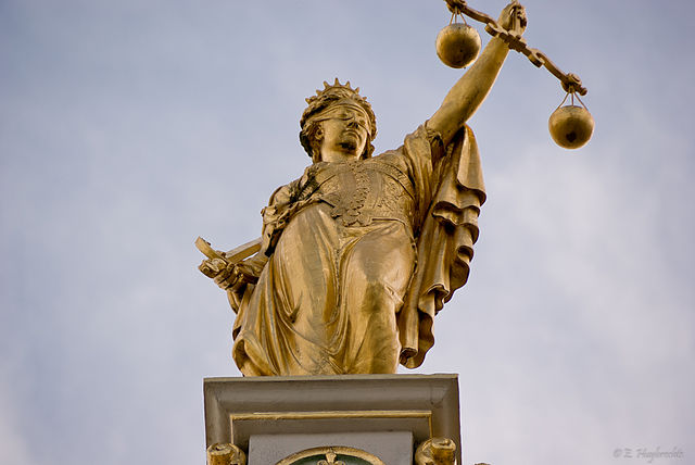 Golden Lady Justice