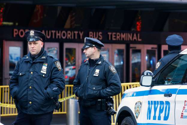 New York Port Authority attack
