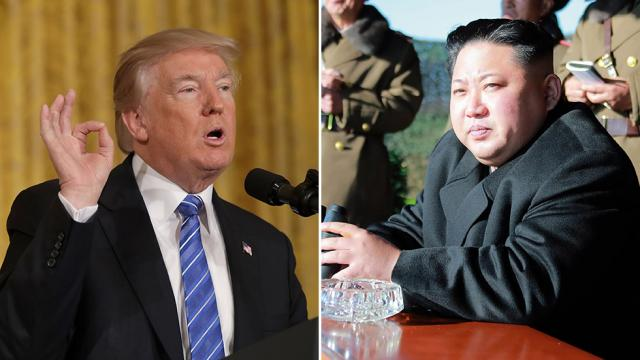 Trump To Continue Pressuring North Korea To Negotiate