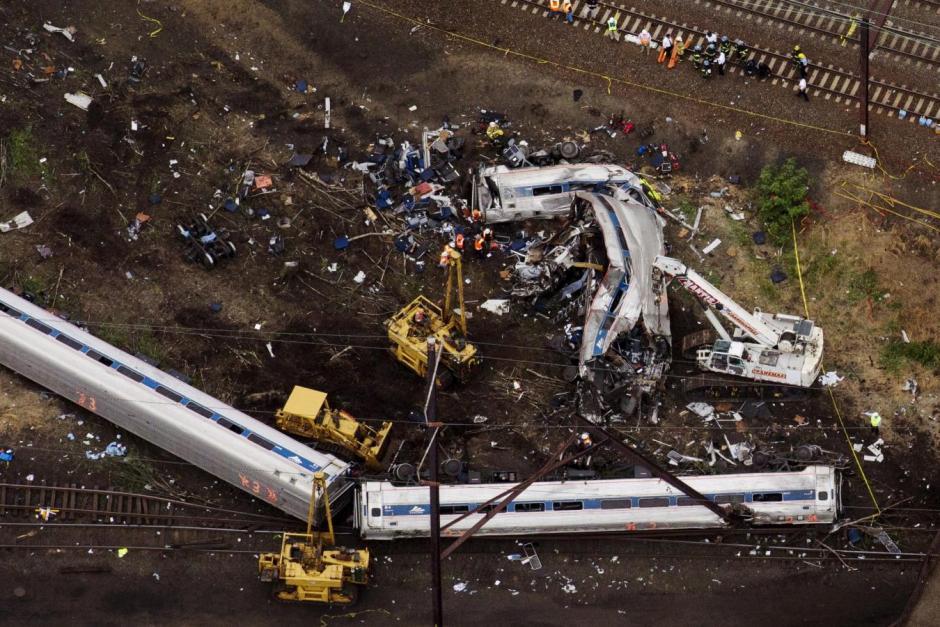 US train lacked
