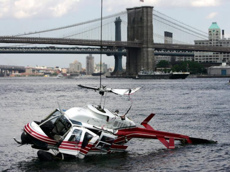 Helicopter Crash In New York