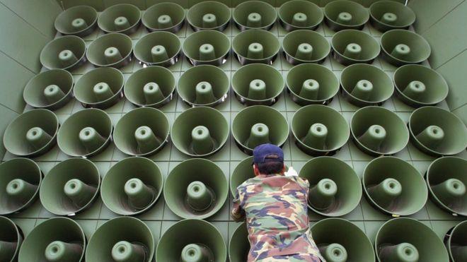 Korea Turns Off Loudspeakers