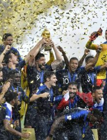 France Win World Cup Final 2018