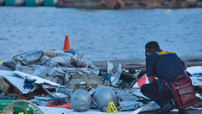 Crashed Lion Air Jet Located
