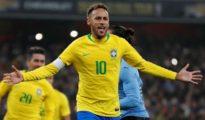 Brazil Win Against Uruguay