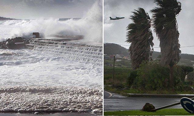 Heaving Winds In Spain