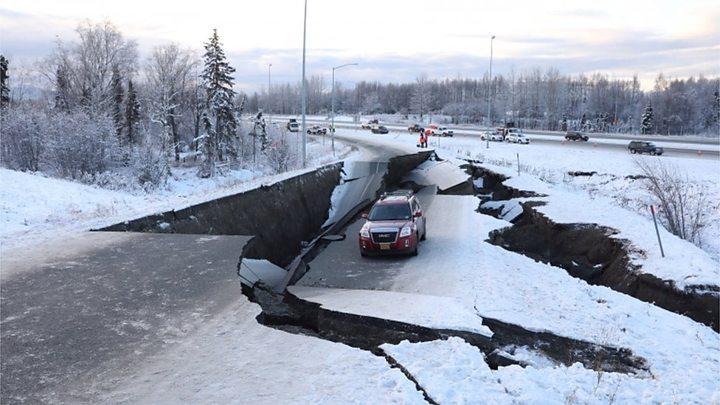 Earthquakes in Alaska