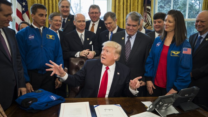 Creation Of Space Force