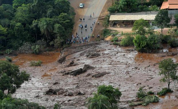 Brumadinho Dam Collapse In Brazil