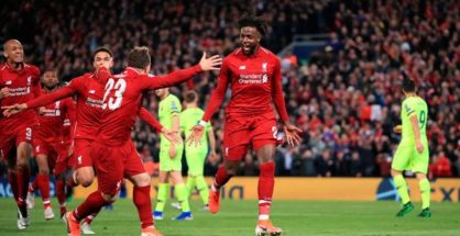 Liverpool Reach Champions League