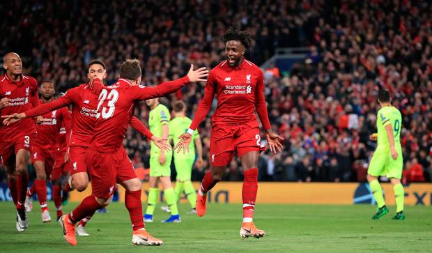 Liverpool Reach Champions League
