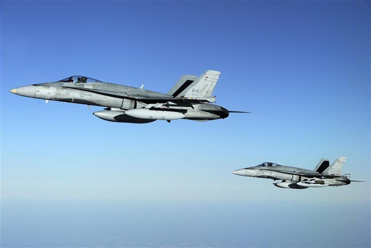 NORAD fighters