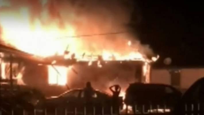 Australia fire 3 children killed