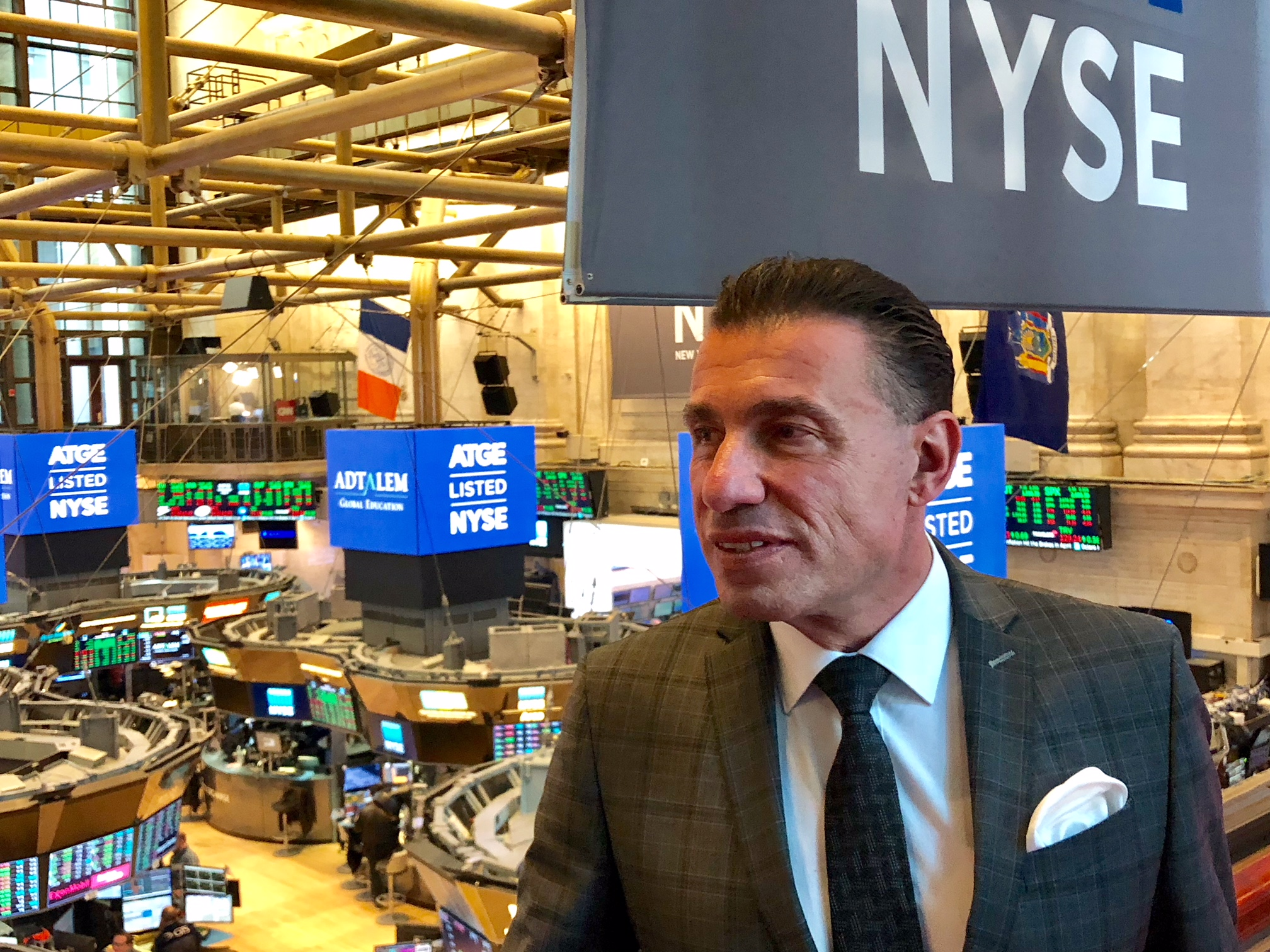Harald Seiz New York Stock Exchange