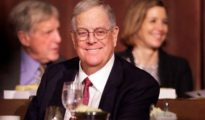 Billionaire David Koch