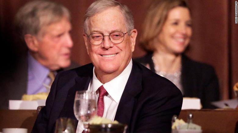 Billionaire David Koch